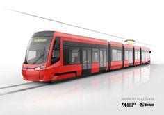 Škoda 29T/30T tram design on Behance