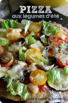 Une Petite Recette De Pizza Vegan Et Sans Gluten Testée Et Adoptée - Cuisine testee