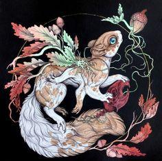 Contemporary Mythology: the Art of Caitlin Hackett