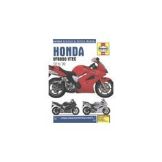 Haynes Honda VFR800 Vtec '02 to '09 Service and Repair Manual (Paperback) (Matthew Coombs)