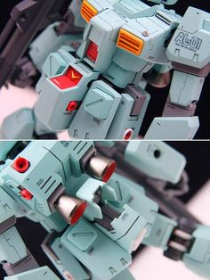 RGM-79N GM Custom Ver.Ka風仕上げ Robot, Gundam Custom Build, Gunpla Custom, Gundam Model, Model Building, Custom Paint, Robots