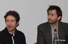 2 Doctors. 2 Handsome Doctors.  Paul McGann & David Tennant