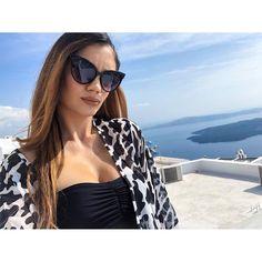 Elegance Style, Black Cat Eyes, Wholesale Fashion, Santorini, Eyewear, Anna, Island, Woman, Elegant