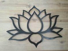 Lotus Flower Metal Art, Black, Wall Decor, wide and tall Rose Stencil, Stencil Wall Art, Mosaic Wall Art, Stencil Painting, Lotus Flower Art, Folk Art Flowers, Lotus Art, Lotus Flower Paintings, Flower Symbol