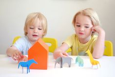Mer Mag: Paint Chip Animal Friends