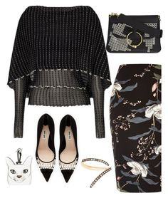 """""""Untitled #1341"""" by sunnydays4everkh ❤ liked on Polyvore featuring River Island, Miu Miu, Roland Mouret, Sho, Loewe and J.W. Anderson"""
