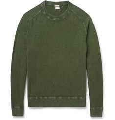 Massimo AlbaWatercolour-Dyed 1-Ply Cashmere Sweater