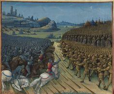 Passages faiz oultre mer par les François contre les Turcqs et autres Sarrazins et Mores oultre marins », traité commencé à être rédigé à Troyes, « le jeudi XIIIIe jour de janvier » 1473, par l'ordre de « Loys de Laval, seigneur de Chastillon en Vendelois et de Gael, lieutenant general du roy Loys l'onziesme... gouverneur de Champaigne... par... SEBASTIEN MAMEROT de Soissons, chantre et chanoine de l'eglise monseigneur Saint Estienne de Troyes » et chapelain de Louis de Laval. 1401-1500