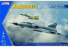 KINETIC 1/48 SOUTH AMERICAN MIRAGE IIIE/V KIN48052 #Kinetic