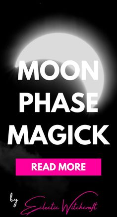 Spells for moon phases. Rituals for moon phases. Facts about moon phases. #witch #pagan #wicca #witchcraft Wicca Witchcraft, Magick, Pagan, Moon Spells, Witch Cat, Moon Phases, Carpentry, Read More, Spelling
