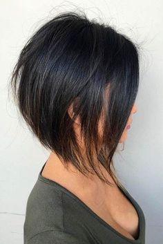 28 adorable short layered haircuts for the summer fun - Haarschnitt kurz - Hairdos Ideas Short Layered Haircuts, Short Hairstyles For Women, Layered Hairstyles, Curly Haircuts, Pretty Hairstyles, Inverted Bob Hairstyles, Short Bobs, Longer Bob Hairstyles, Hairstyle Ideas