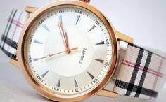 Ceas Dama Quartz Geneva, Gold Watch, Burberry, Quartz, Accessories, Crystal, Jewelry Accessories