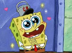 In Love Flirting GIF by SpongeBob SquarePants - Find & Share on GIPHY