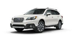 White Subaru Outback 2017 3.6R