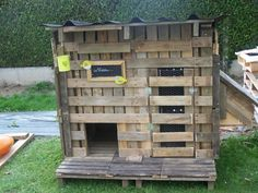 Chicken coop from pallets | 1001 Pallets