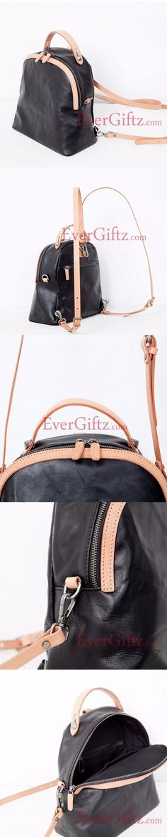 Genuine Leather vintage handmade shoulder bag crossbody bag handbag  backpack Patrón De Mochila bddd39dd6f76d