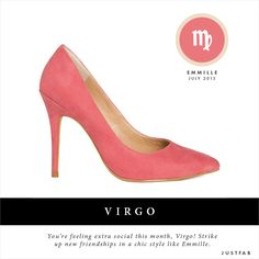 Virgo, check out your summer shoe style recommendation. Read your July style scope. #fashion #horoscope