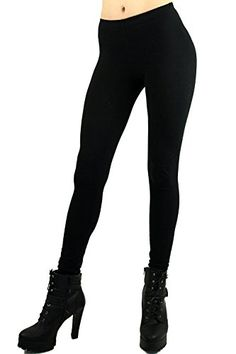 World of Leggings Made in the Usa Womens Full Length Cotton Leggings Black S >>> Learn more by visiting the image link. (This is an affiliate link) Black Leggings, Women's Leggings, Basic Wardrobe Pieces, Cotton Leggings, Spandex Fabric, Cool Things To Make, Cotton Fabric, Image Link, Black Jeans