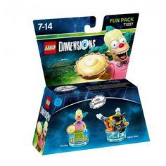 Lego 71227 Fun Pack Lego Dimensions W2: Simpsons Krusty