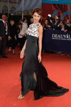 "Olga Kurylenko attends ""The November man"" premiere on September 11, 2014 in Deauville, France."