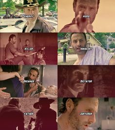 The many sides of Rick Grimes