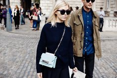 #LFW - Sometimes there's no better accessory than a fab pair of frames.