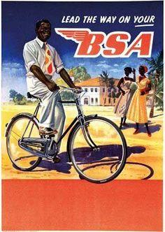 BSA Bicycle Poster Kenya cycling motivation, cycling posters, cycling, cycling…