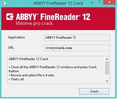 abbyy finereader 12 professional crack - patch.exe