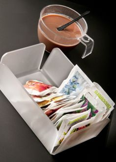 Porta Zucchero / Sugar Box #Poloplast http://www.poloplast.it/en/articles/6168_SUGAR-BOX-PMMA-TRANSPARENT.html