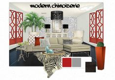 Modern Chinoiserie..... LUXE interiors by anne.