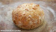 Recept na perfektní domácí chléb, který se zaručeně povede. Pan Bread, Bread Baking, Bread Recipes, Cooking Recipes, Y Recipe, Brunch, Mexican Food Recipes, Ethnic Recipes, Bread And Pastries