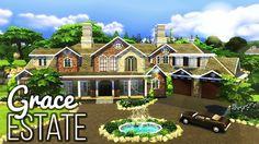 The Sims 4 | GRACE ESTATE w/ ThomasTV | Speed Build