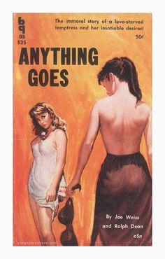 lesbian pulp fiction …