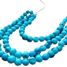 Acai in the Islands-Turquoise Necklace.