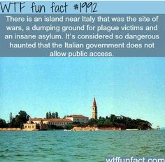 *Fact checked: Poveglia is the name of this real island! It is a small island located between Venice and Lido in the Venetian Lagoon, northern Italy. Used to rehome plague victims (Bubonic plague) in the mid 14th and early 17th centuries. There was also a psychiatric hospital (of the worst kind) in the early 1920s. This place was investigated by the popular paranormal show Ghost Adventures.