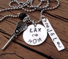 Lacrosse LAX BMX Softball Dance  Cheer Soccer by JewelryWithWords, $20.00