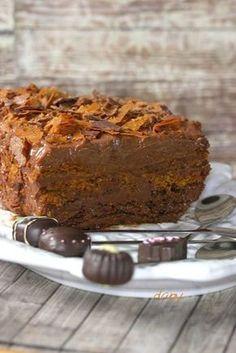 Terrine express de Chocolat au caramel, gavottes et spéculos