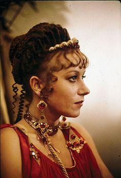 Helen Mirren in Caligula #RomanBling can't resist Helen Mirren, didn't even recognize her.