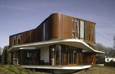Mecanoo Architects created this amazing house for the Nefkens family in the Wageningen municipality of the Netherlands.
