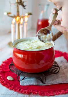 Rice Porridge for Christmas Christmas Feeling, Nordic Christmas, Christmas Kitchen, Christmas Morning, Christmas Baking, Family Christmas, Christmas Time, Christmas Traditions, Real Food Recipes