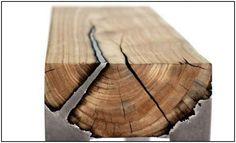 Fantastic Series of Furniture Blending Aluminum and Wood