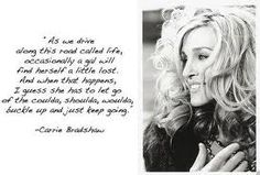 Carrie quote =)