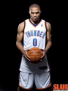 Russell Westbrook - Plays for the Oklahoma City Thunder & Olympic Gold Medatlist Mens Basketball 2012