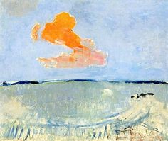 Piet Mondrian - Orange Cloud
