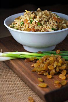 orange scented couscous with golden california raisins orange scented ...