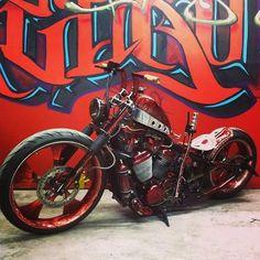 """Cafe Racer Bobber Chopper Cruiser Vintage Custom Grips Beston//GT Style Black 1/"""""""