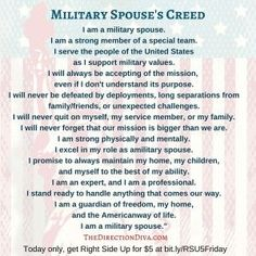 Judy Davis shares some highlights on how to be happy in military life from her book Right Side Up - a resource for the military family. Military Spouse Quotes, Military Deployment, Military Couples, Military Love, Army Wife Quotes, Military Relationships, Healthy Relationships, Military Girlfriend, Army Boyfriend