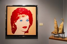 Tefaf 2015 Jane Fonda Andy Warhol /// More on Interiorator.com