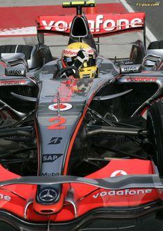 Formula 1: World Championship 2007, GP of China, Lewis Hamilton wins Pole (GBR, Vodafone McLaren Mercedes) ©Hoch Zwei / Juergen Tap / Daimler