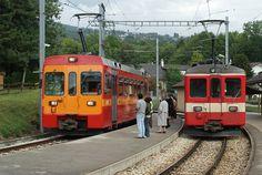 genolier   13 Croisement à Genolier Switzerland